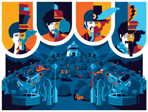 Limited Edition Yellow Submarine Posters Released Today