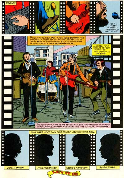 The Beatles In Vintage Comic Books The Strut