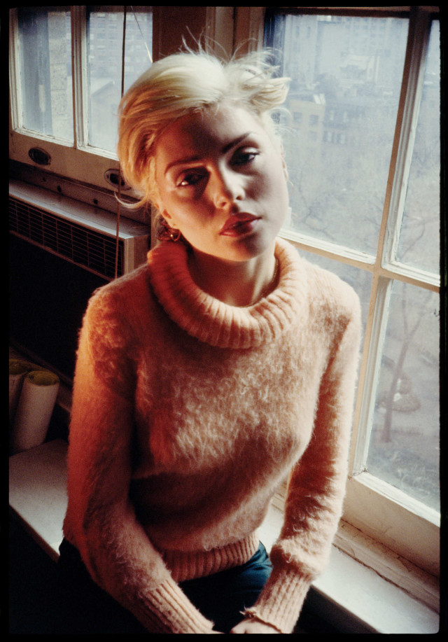 Debbie Harry at the Gramercy Park Hotel in 1978