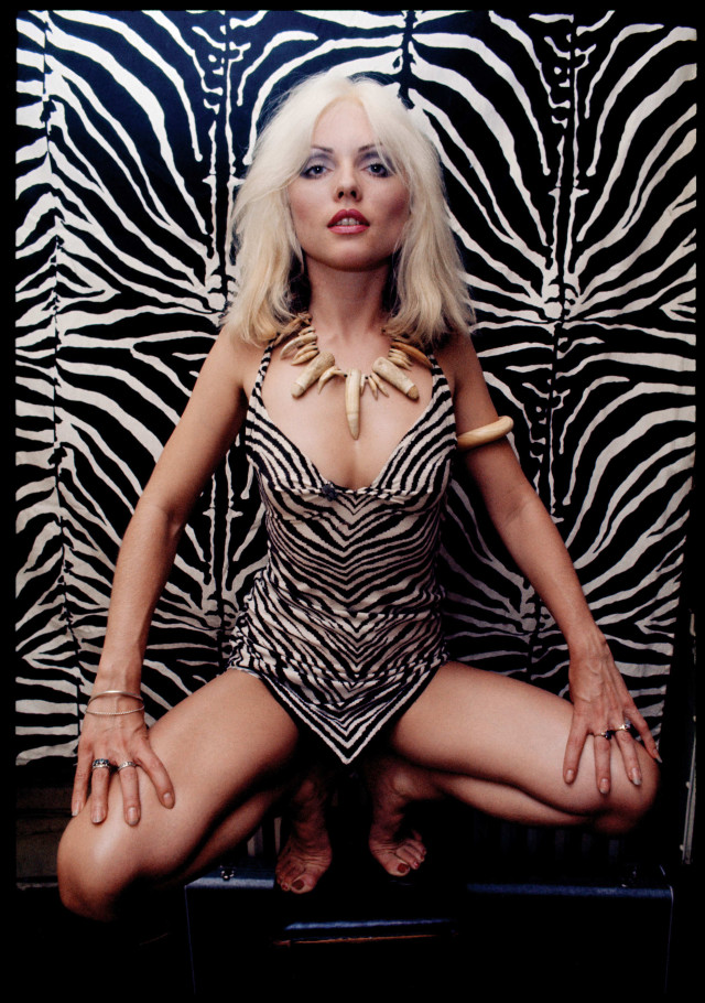 Debbie Harry in a 1976 photoshoot for Cream